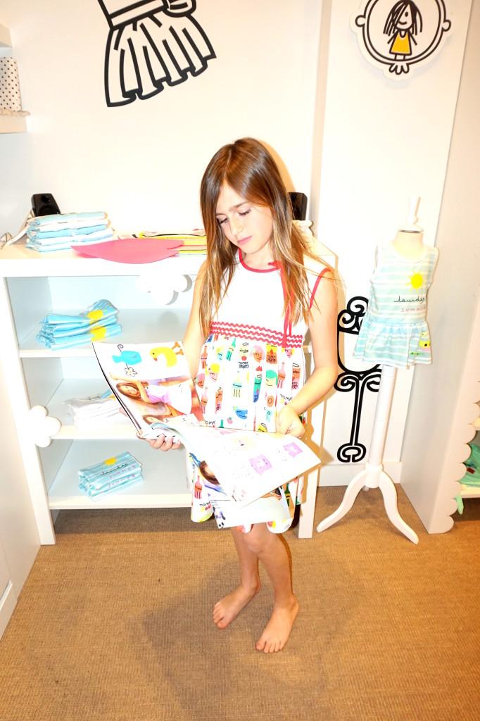 Vestido de la Colección Warhol de Lourdes Kids
